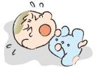 赤ちゃんの急性中耳炎の症状